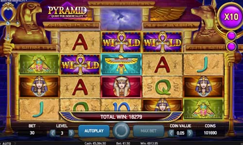 Pyramid Quest for Immortality free slot