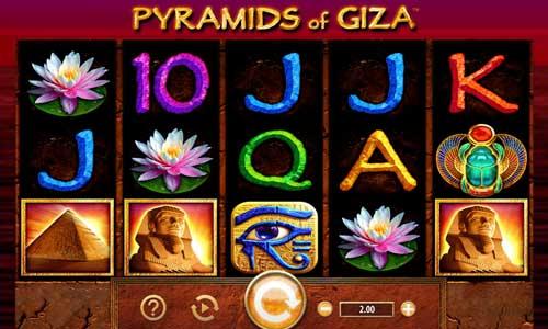 Pyramids of Giza videoslot