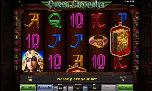 Queen Cleopatra videoslot