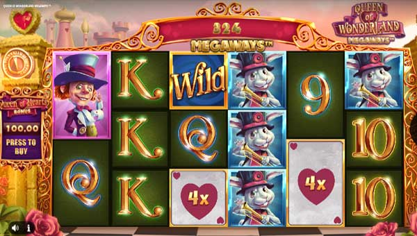 Queen of Wonderland Megaways slot