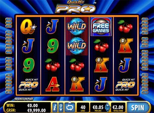 Quick Hit Pro casino slot