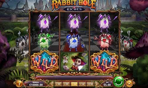 Rabbit Hole Riches videoslot