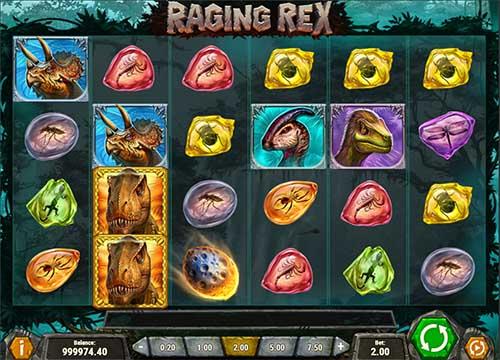 Raging Rex videoslot