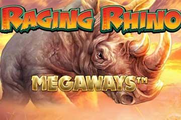 Raging Rhino Megaways video slot