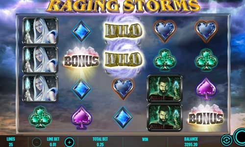 Raging Storms videoslot
