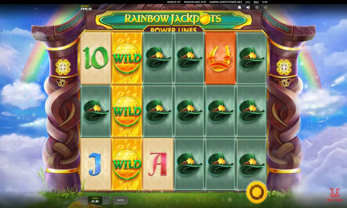 Rainbow Jackpots Power Lines videoslot