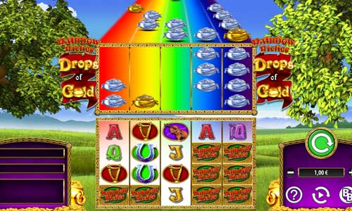 Rainbow Riches Drops of Gold videoslot