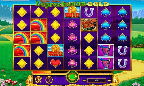 Rainbow Riches Leprechauns Gold videoslot