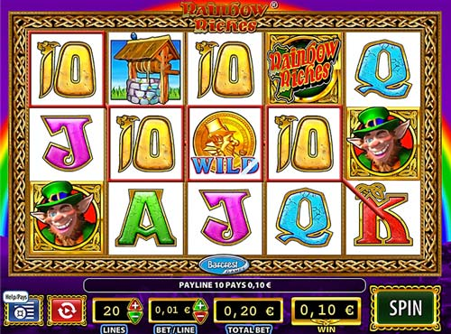 Rainbow Riches videoslot