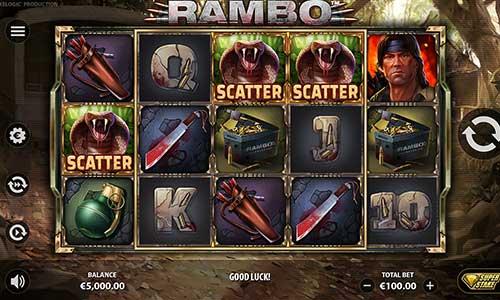 Rambo videoslot