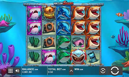 Razor Shark videoslot