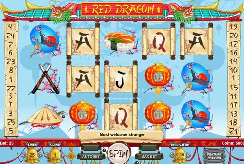 Red Dragon videoslot
