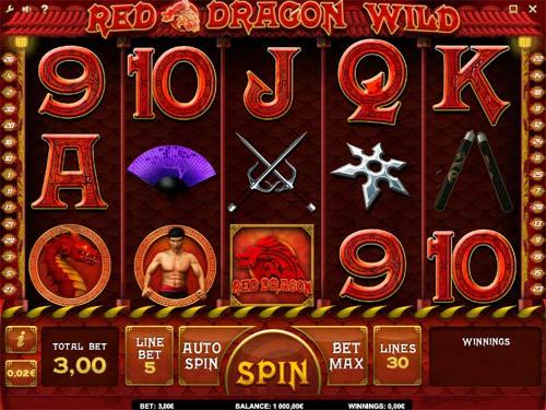 Red Dragon Wild slot