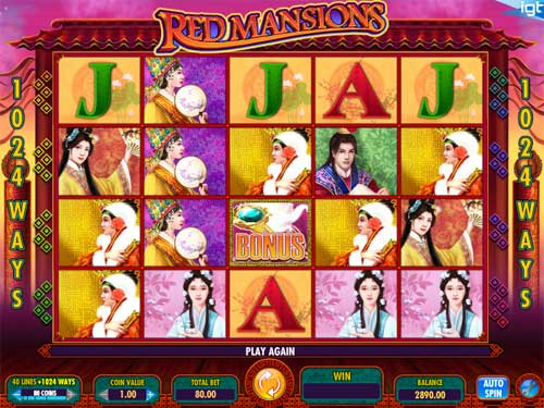 Red Mansion free slot