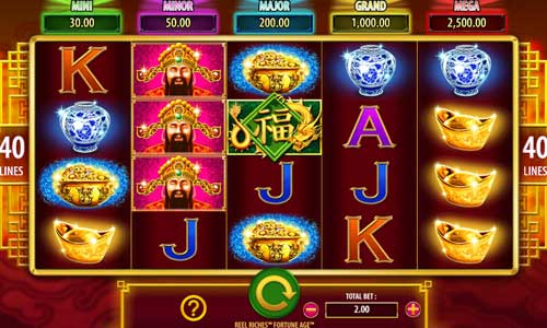 Reel Riches Fortune Age free slot