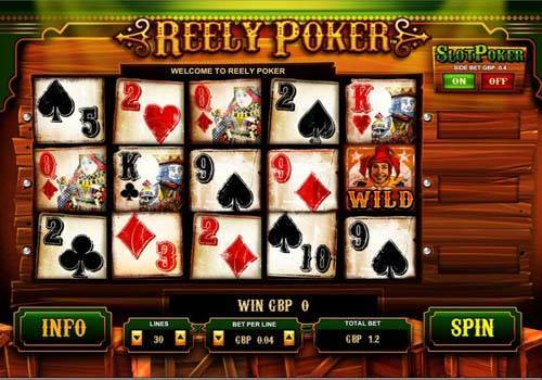 Reely Poker videoslot
