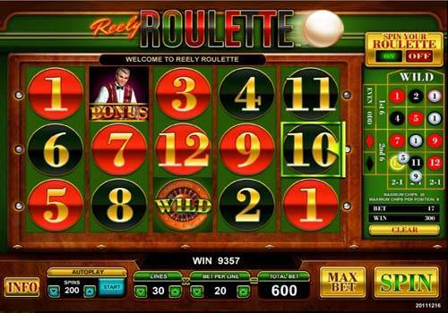 Reely Roulette free slot