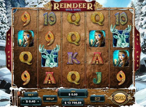 Reindeer Wild Wins Slot Machine Online ᐈ Genesis Gaming™ Casino Slots