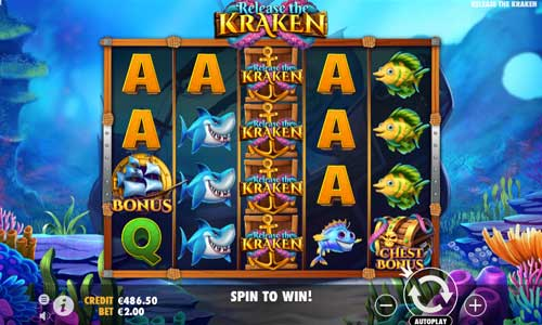 Release the Kraken videoslot