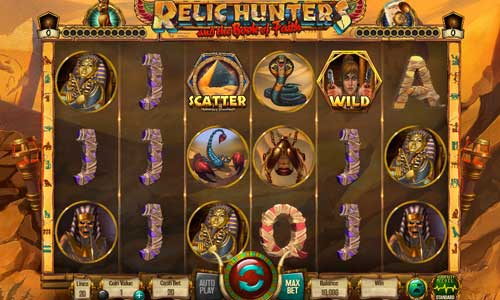 Relic Hunters and the Book of Faith videoslot