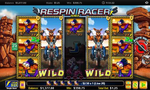 Respin Racer videoslot