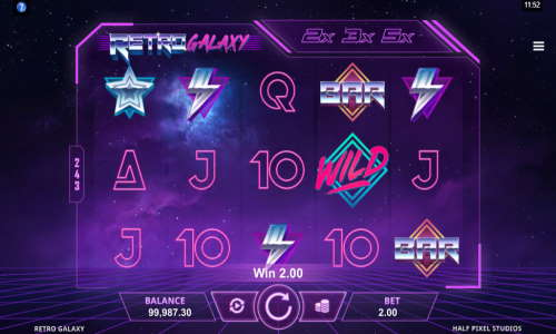 Retro Galaxy videoslot