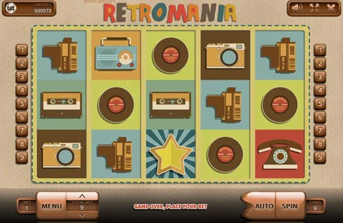 Retromania slot