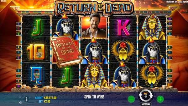 Return of the Dead videoslot