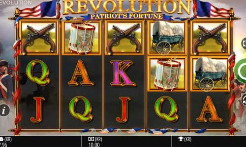 Revolution Patriots Fortune videoslot