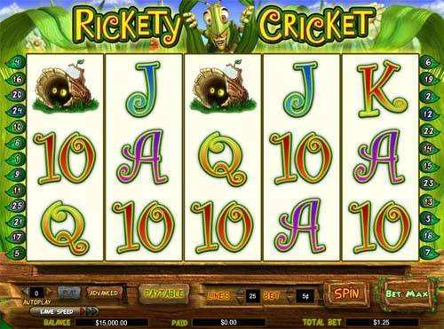 Rickety Cricket free slot
