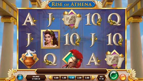 Rise of Athena videoslot