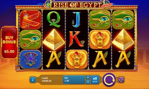 Rise of Egypt Deluxe videoslot