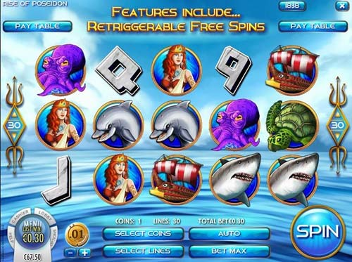 Rise of Poseidon slot