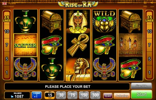 slot games online rise of ra slot machine