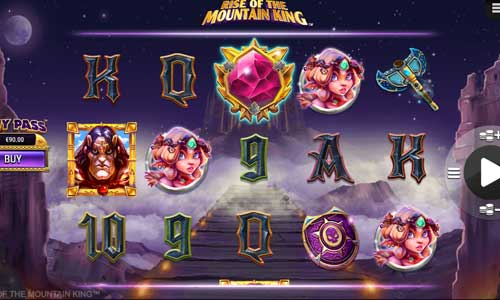 spela Rise of the Mountain King slot