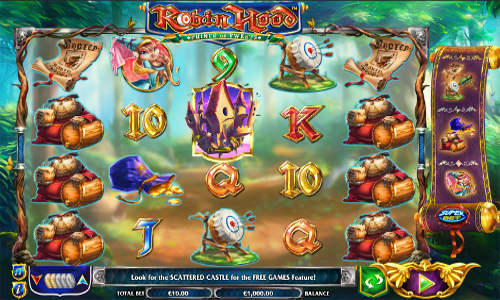 Robin Hood Prince of Tweets free slot