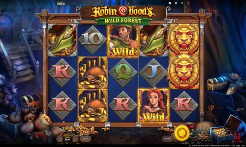 Robin Hoods Wild Forest videoslot
