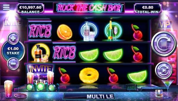 Rock the Cash Bar videoslot