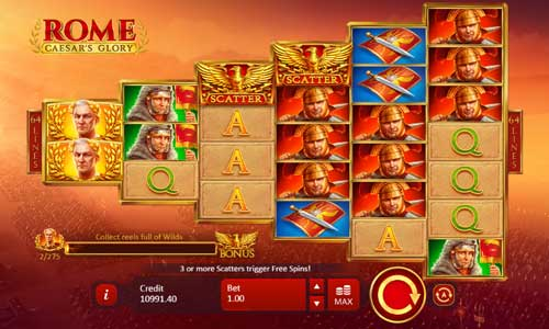 Rome Caesars Glory videoslot