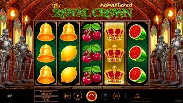 Royal Crown Remastered videoslot