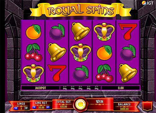 Royal Spins slot