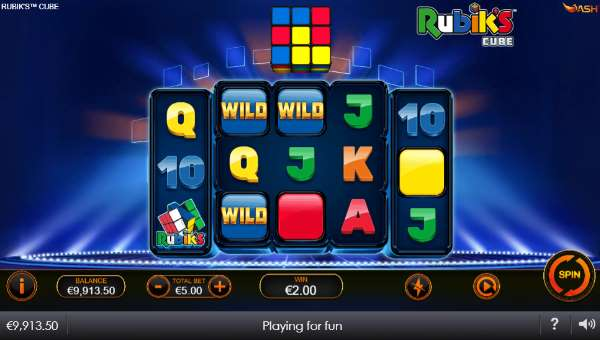 Rubiks Cube videoslot