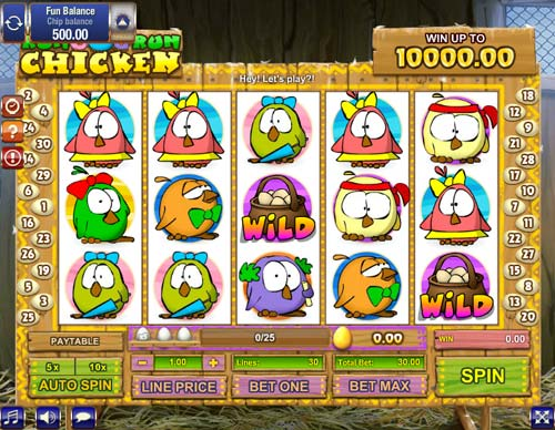 Run Chicken Run slot