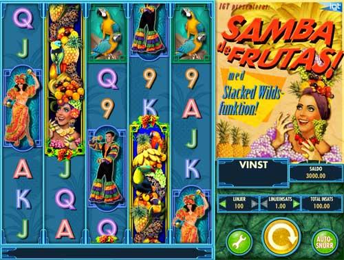 Samba De Frutas videoslot