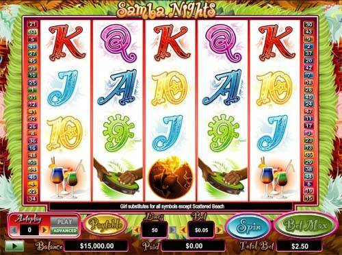 Samba Nights slot