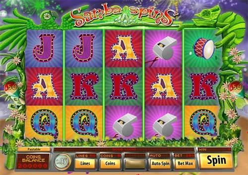 Samba Spins free slot