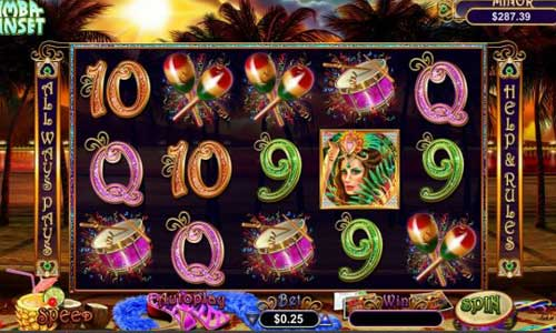 Samba Sunset Slots - Play for Free Instantly Online
