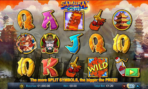 Samurai Split slot