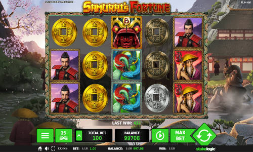 Samurais Fortune videoslot