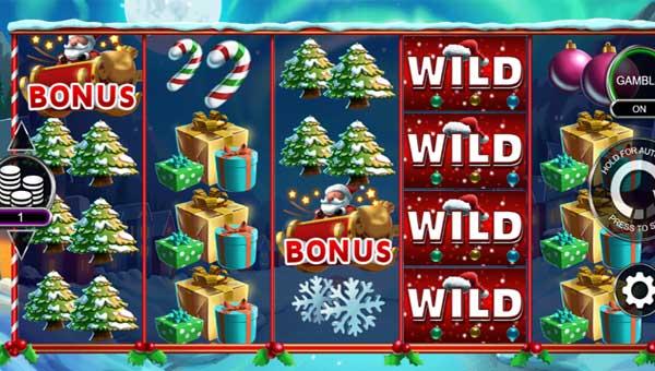 Santa Stacked Free Spins videoslot